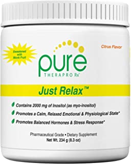 Sponsored Ad - Just Relax - Citrus 60 Servings | Supports: Relaxed Mood, Healthy Blood Pressure, Emotional Wellness, Hormo...