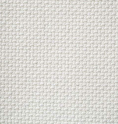 28 Comte Zweigart Brittney Lugana Evenweave tissu crème taille 49 x 70 cm