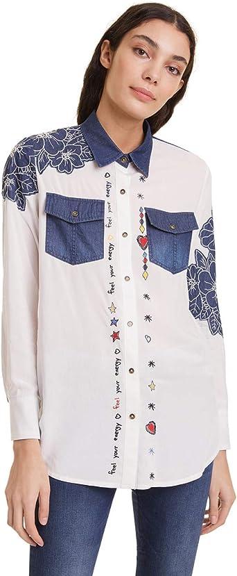 Desigual Shirt Frida Camisa para Mujer