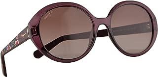 Salvatore Ferragamo SF915S Sunglasses Wine w/Brown Gradient Lens 57mm 606 SF 915S