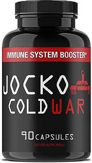 Jocko COLDWAR Immune System Support - Zinc, Vitamin C, D3, Garlic Extract - 30 Day Boost Immunity