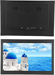 Industrial Monitor Embedded Installation 13.3inch Monitor Full HD Wider Display Range for Works TV(Australian regulations)