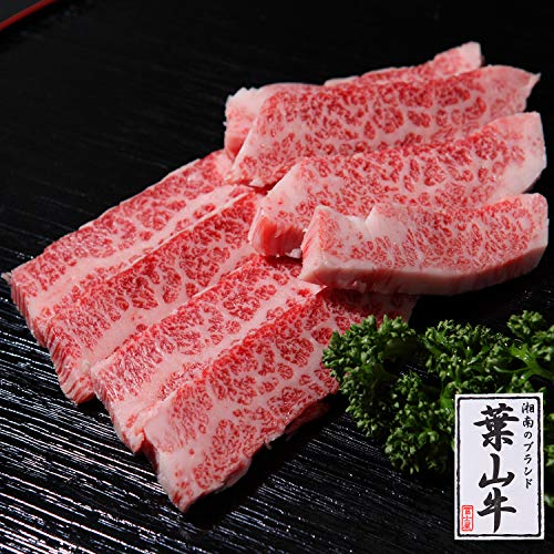 葉山牛カルビ肉焼肉用 (100g)