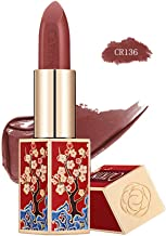 CATKIN Rouge Matte Lipstick, Waterproof Long Lasting Satin Moisturizing Smooth Soft 0.13 Ounce-Chinese Style-CR136