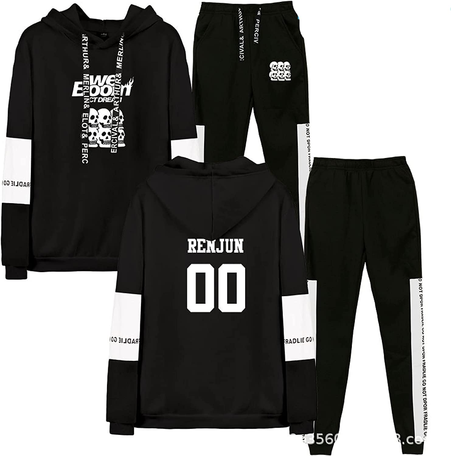 NCT DREAM 2PCS Bombing free shipping SET Hoodie and Pullo Pant Boom Sportswear We Suit Lowest price challenge