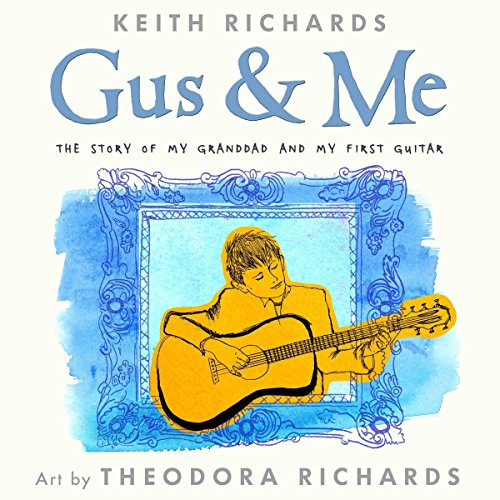 Gus and Me audiobook cover art