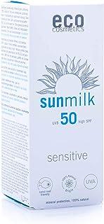eco cosmetics eco Sonnenmilch 50+ sensitive, wasserfest, veg