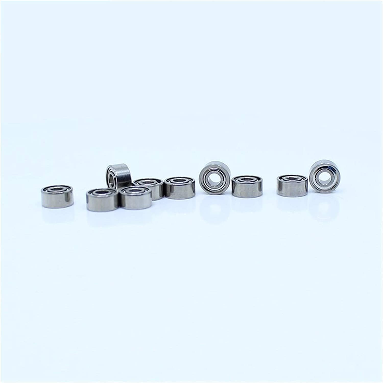 KHJK Durable Quantity limited Regular store Flexible MR52ZZ Bearing ABEC-1 Miniature 2X5X2.5mm