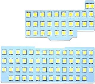 ワゴンR LED ルームランプ スズキ ワゴンR ワゴンRスティングレー MH34S MH44S MH35S MH55S H24.9~ 室内灯 ホワイト 専用設計 爆光 3チップSMD搭載 カスタムパーツ SUZUKI WAGON R LED バルブ 取付簡単 1年保証 (スズキ ワゴンR)