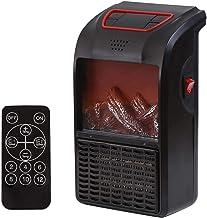 ZWR Warm Air Fun - Calefactor eléctrico de baño de bajo consumo, mini calefactor de baño, con termostato ajustable, calentador de espacio portátil eléctrico de pared