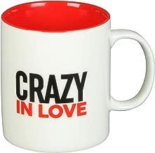 Gift mug - 'CRAZY IN LOVE' - 12 Oz - Ceramic - OTH-HM1486
