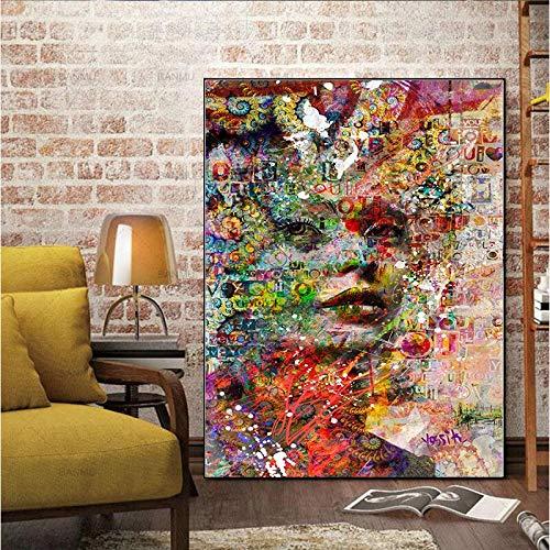 Geiqianjiumai Pintura Mural Mural Abstracto Digital