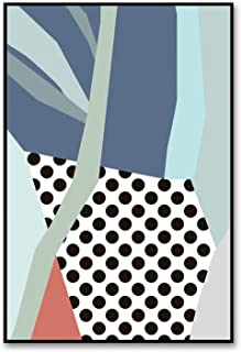 Be fearless Watercolor A4 Pictures Art Modern Canvas Flowers Painting Minimalist Nordic Style Prints Geometric Poster Living Room Wall Decor,28x36cm No Frame,ASD60 02