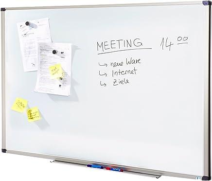 Tableau Magnétique   Tableau Blanc Master of Boards® Élu Meilleur Rapport Qualité/Prix - Serie ECO   Tableau Aimanté   Tableau Memo Cadre Alu   80x110cm