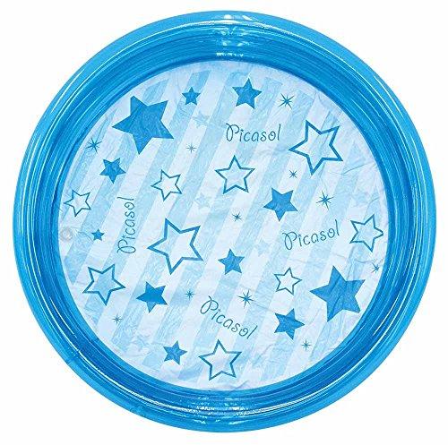 ドウシシャ ビニールプール 丸形 ブルー 100cm