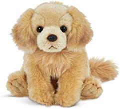 Bearington Goldie Golden Retriever Plush Stuffed Animal Puppy Dog, 13 inches