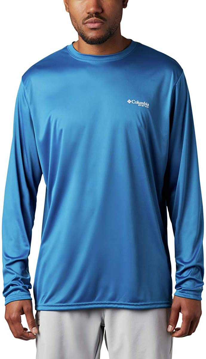 Columbia Men's Terminal Tackle PFG Triangle LS Shirt
