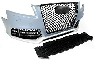 PROMOTORING For 08-11 Audi A5/S5 RS5 Style Front Bumper Conversion Kit w/Gloss Black Grilles