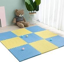 MAHFEI-Ppuzzelmatten vloerbeschermingsmatten Fitnessstudio zacht en comfortabel hoge terugslag dempen antislip eenvoudig t...