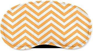 Chevron Stripes Orange - Sleeping Mask - Sleeping Mask