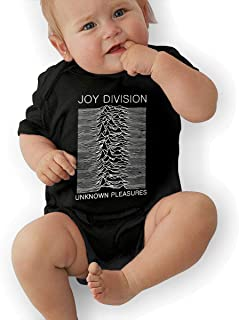 LuckyTagy Joy Division Unisex Vintage Infant Romper Baby GirlPlaysuit White