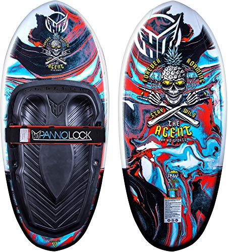 HO Agent Kneeboard Black/Red
