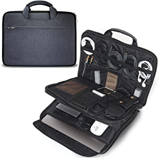 Evoon パソコン ケース ノートパソコン ケース ガジェットポーチ バックインバック 13-13.3インチ 防水/衝撃吸収/多機能 macbook air 13 / MacBook Pro 13 / surface pro/インナーバック ...