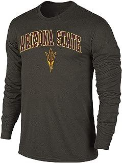 NCAA Men's Long Sleeve T Shirt Charcoal Victory