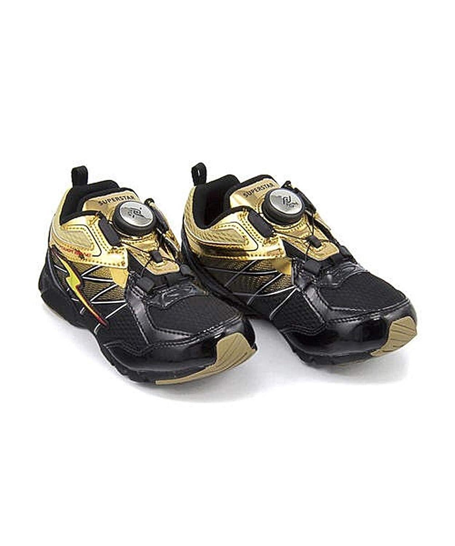 [スーパースター] バネのチカラ 男の子 キッズ 子供靴 運動靴 通学靴 ランニングシューズ スニーカー パワーバネ ダイヤル 通気性 クッション性 EE カジュアル デイリー スポーツ スクール 学校 SS J871
