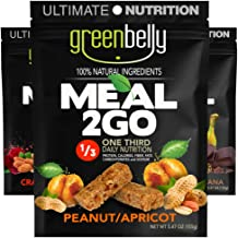 Greenbelly Backpacking Meals - Backpacking Food, Appalachian Trail Food Bars, Ultralight, Non-Cook, High-Calorie, Gluten-Free, Ready-to-Eat, All Natural Meal Bars (Variety - 9 Meals)