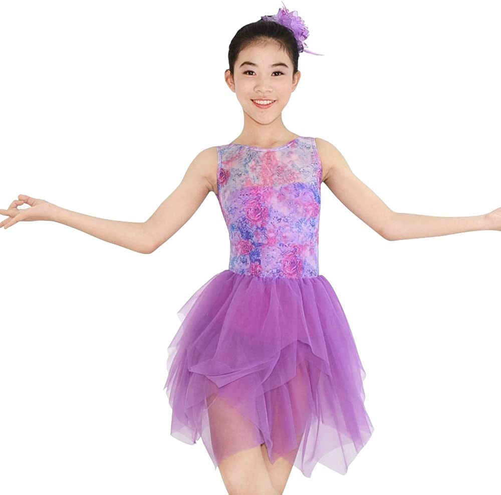 MiDee Illusion Sweetheart Japan Maker New Tank Top Lyrical Dance Dress 25% OFF Costume