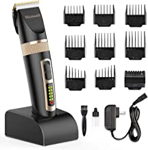 Nicewell Hair Clippers for Men Kids, 2-Speed Cordless Hair Trimmer Grooming Haircut Kit..