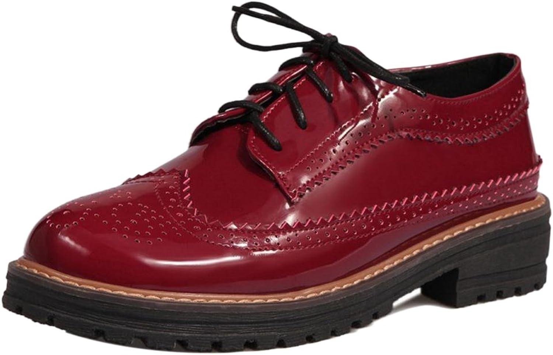 Cular Acci Women Fashion Brogue shoes Lace Up