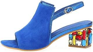 Summer Sheepskin Suede Leather Women Sandals Rhinestone Heels Wedding Shoes