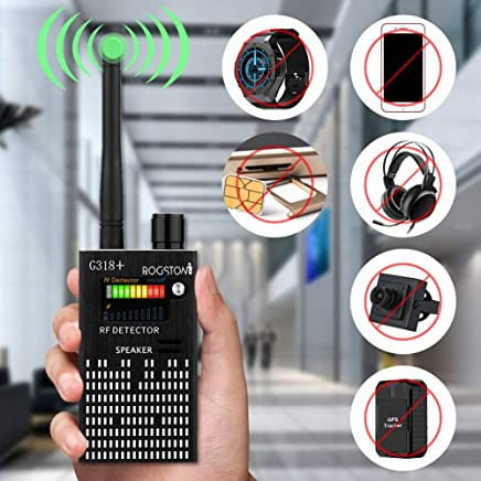 Super Anti-spy Bug GPS Wireless Camera RF Signal Detector Set[Enhanced Version]