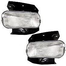 99-03 Ford F150 (except Harley Davidson) L & R Fog Lamp Assys w/bracket (pair)