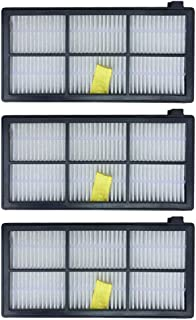 Washable Replacement HEPA Filter for iRobot Roomba 800 900 Series 870 880 890 980, Pack of 3