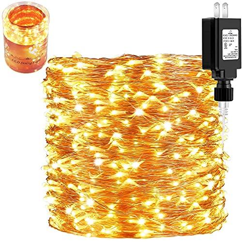165Ft Ultra Long 500 LEDs LED String Lights Plug in,...