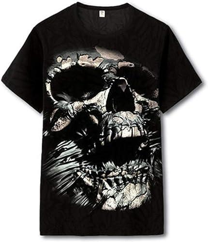 T-Shirt Unisexe Imprimé 3D Motif T-Shirt Imprimé Animal