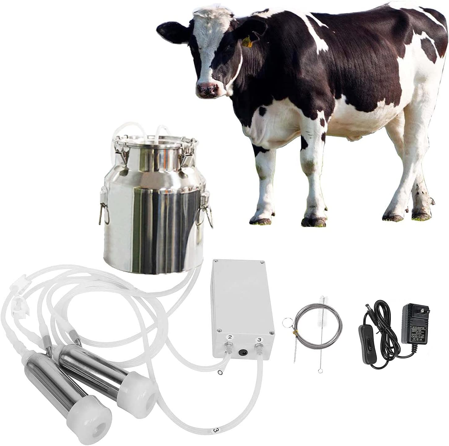 JUANYUE Portable Super beauty Ranking TOP6 product restock quality top Cow Pulsation Electric Machine Milking Vacuum