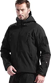 hooded utility jacket mens