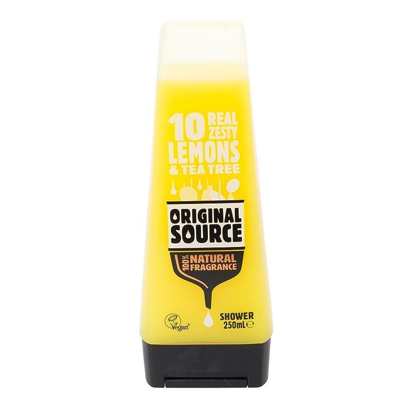 カフェに頼る説得Cussons Lemon and Tea Tree Original Source Shower Gel by PZ CUSSONS (UK) LTD