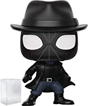 Funko Pop! Animated Spider-Man Movie: Into The Spider-Verse - Spider-Man Noir with Hat Vinyl Figure (Includes Pop Box Protector Case)