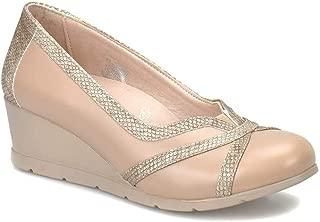 81.111042.Z Vizon Kadın Dolgu Topuklu Ayakkabı
