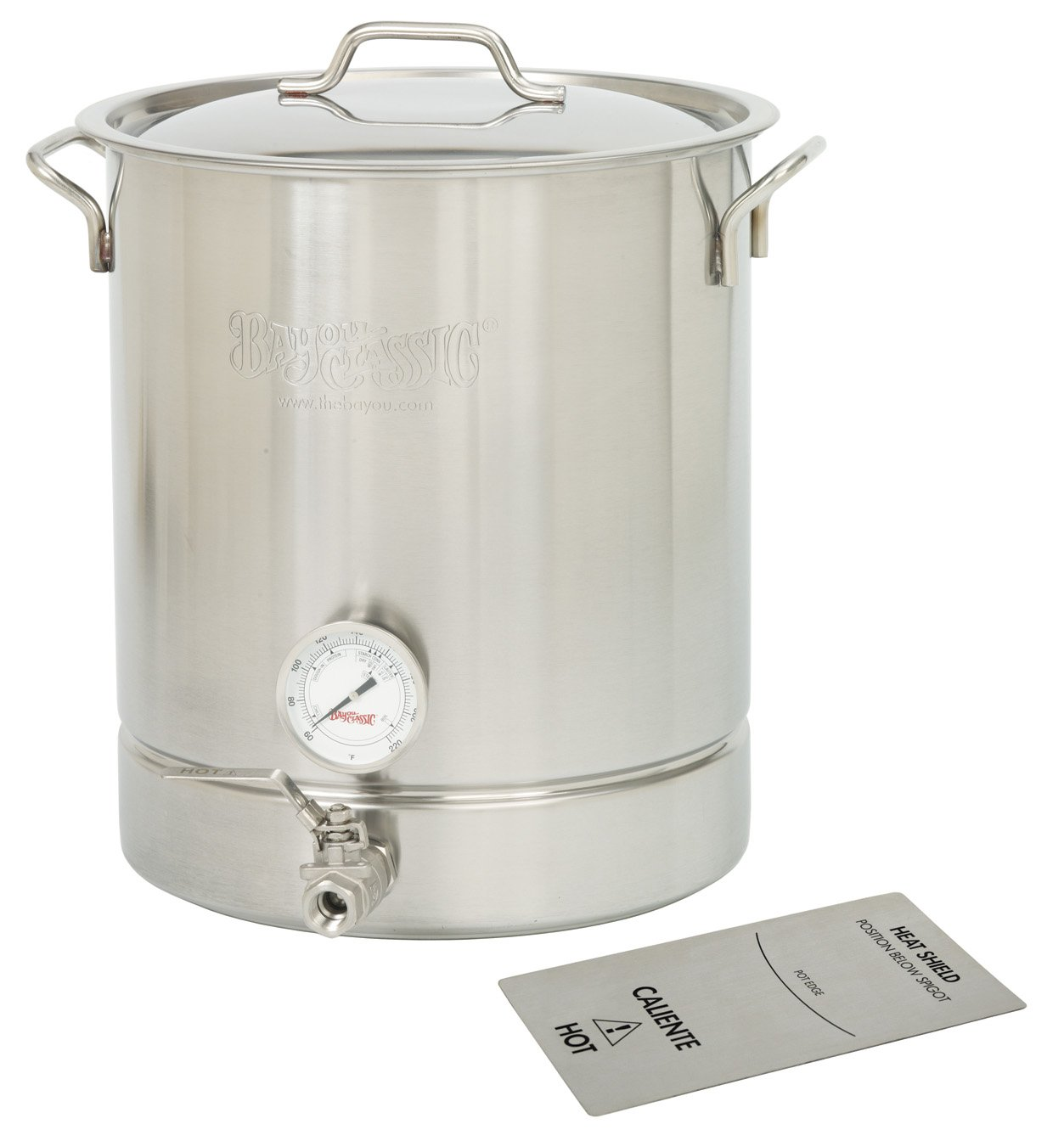 Bayou Classic Stainless gallon Kettle