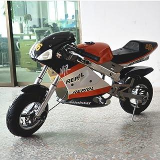 Pevolgen Mini Gas Power Pocket Bike 2 Stroke Motor Motorfiets 49CC Mini Dirt Bike Voor Kinderen En Tieners 13 Jaar En Ouder