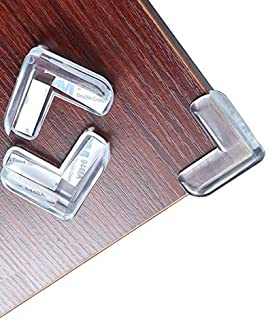 Safety Corner Protectors Guards ToDIDAF 20Pcs L-Shaped Corner Protectors for Kids Clear Furniture Table Worktop Corner Guards for Kids Baby Safety Corners for Table Against Sharp Corners