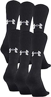 Under Armour Adult Cotton Crew Socks, 6-pairs