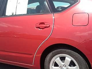 TRUE LINE Automotive Chrome Door Edge L Shape Molding Kit with 3M Tape (30 Foot)