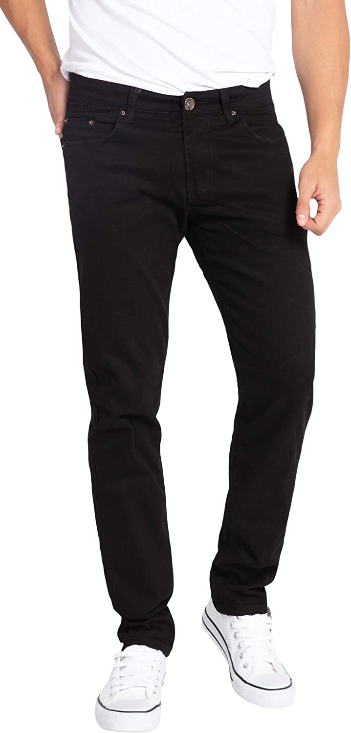 WULFUL Men's Opening large release sale Skinny Slim Fit Stretch Denim P Limited price sale Jeans Comfy Fashion